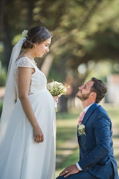 Livre d'or, témoignage mariée robe Ange Croquelune